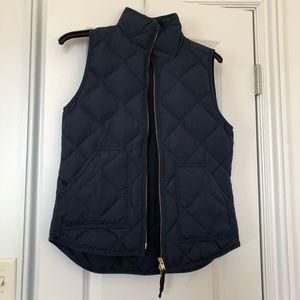 J. Crew Navy Blue Vest